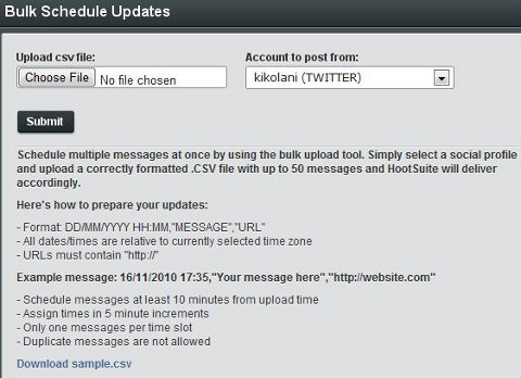 HootSuite Scheduling Step 3