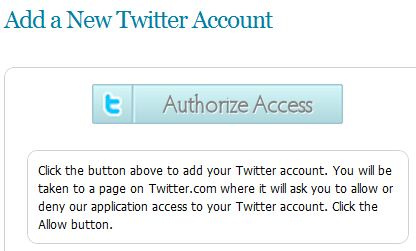 Social Oomph Direct Message Setup Step 1