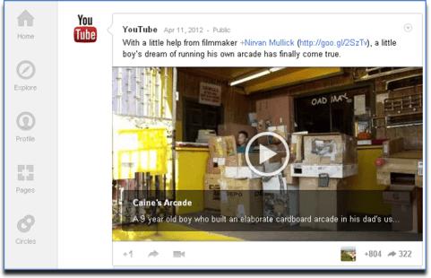 Youtube Beispiel