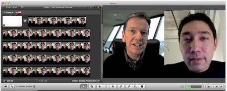 wie man ein Videointerview aufzeichnet