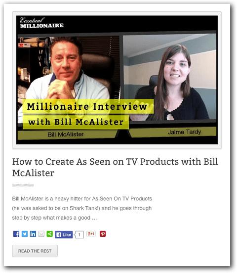 Beispiel für einen Blog-Interviewbeitrag