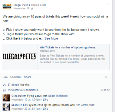 illegal petes facebook post