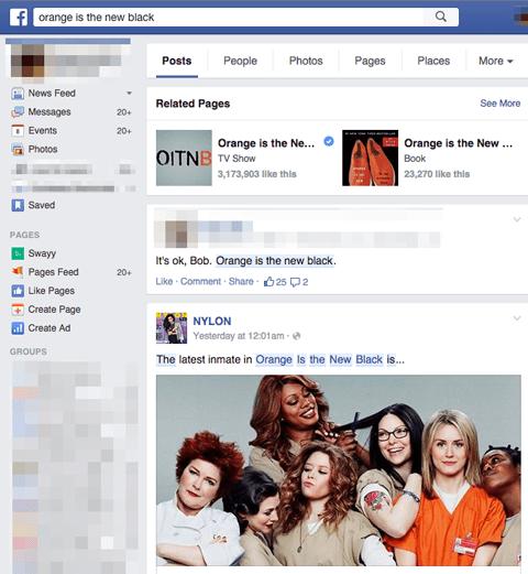 Orange ist das neue Suchergebnis für schwarze Grafiken