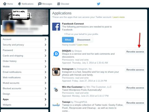 Zugriff auf Twitter-Anwendungen
