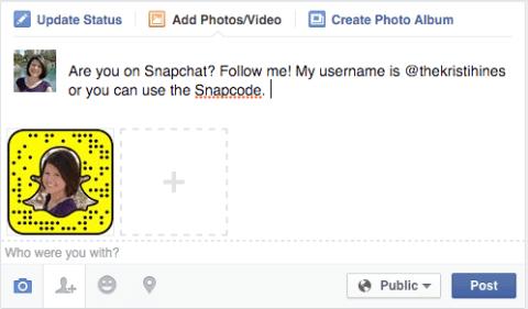 share snapcode
