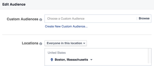 adjust your targeting to each location