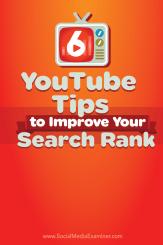 Sechs Tipps zur Verbesserung des YouTube-Suchrangs