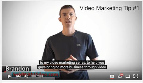 verkauft mit Video-Youtube-Schlüsselwörtern in Untertiteln