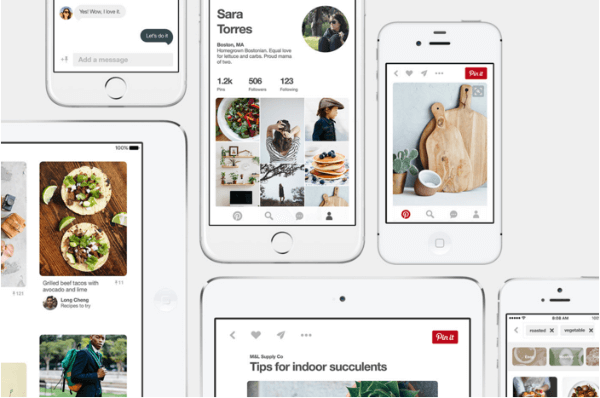 pinterest updated ios app