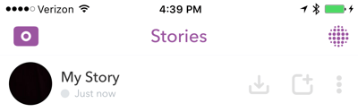 Save your entire Snapchat story at the end of every day.