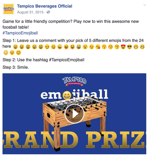 Tampico's emoji-based ad campaign ran for most of 2015.