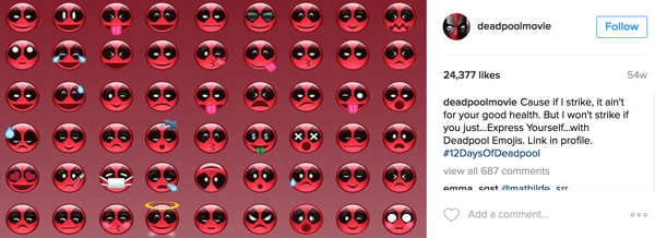 These little Deadpool emojis are deadly and adorable.