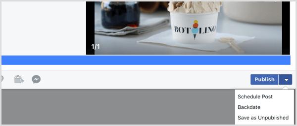Facebook Upload Video Zeitplan Beitrag