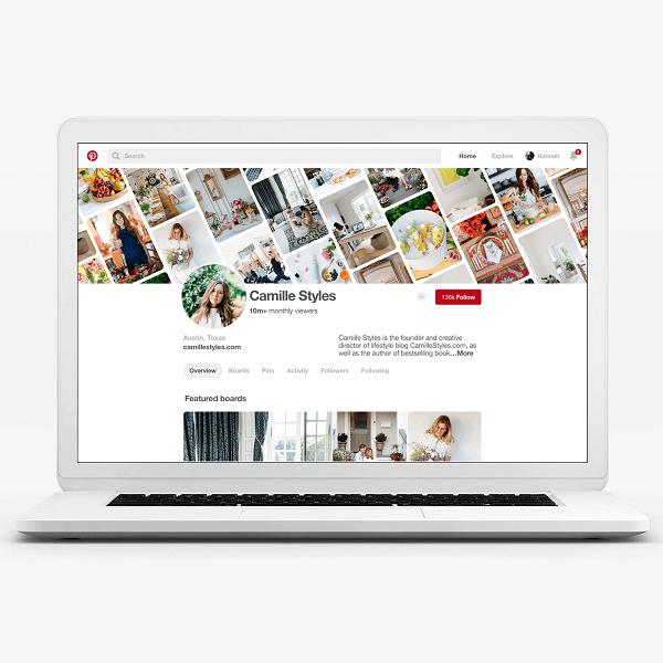 Pinterest bringt neues Geschäftsprofil und neue Erkenntnisse heraus.