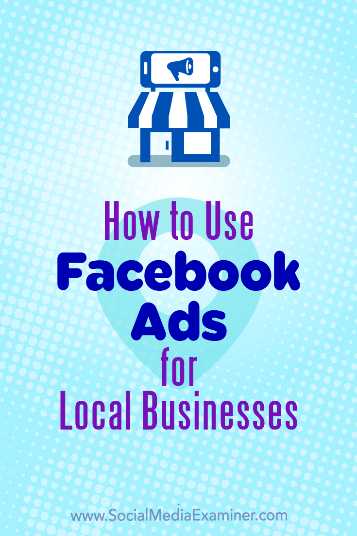 Learn how to start advertising a local brick-and-mortar business on Facebook.