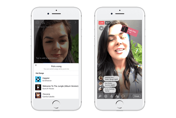 Facebook is testingLip Sync Live, a new feature designed to let users pick a popular song and pretend to sing it on a Facebook Live broadcast.