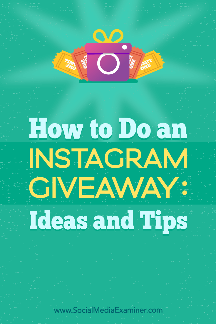 Find tips and inspiration to help you plan a successful Instagram contest that supports your marketing goals.