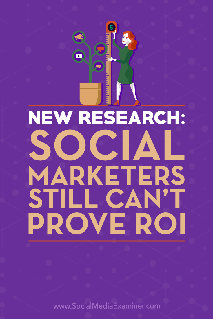 Discover insights from new research that addresses the age-old ROI challenge for social media marketers.