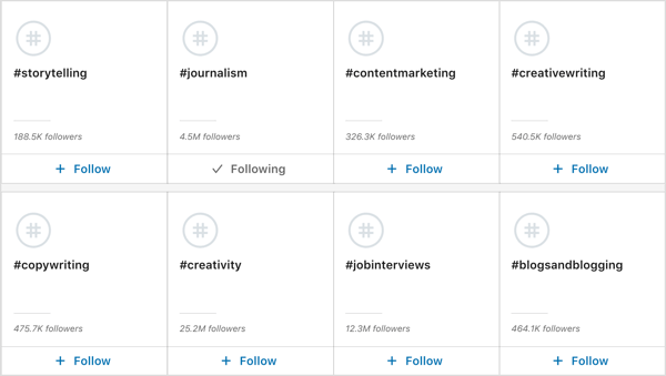 Discover more hashtags on LinkedIn.