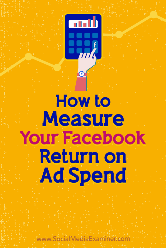 Discover how to measure your return on ad spend (ROAS) and performance for Facebook ad campaigns.