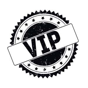 stock art showing VIP seal