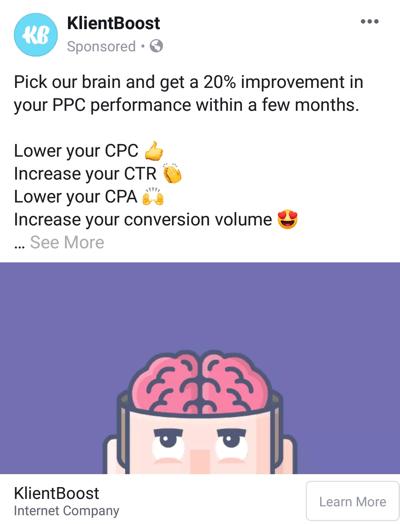 Facebook advertentietechnieken die resultaten opleveren, bijvoorbeeld door KlientBoost die klantresultaten biedt