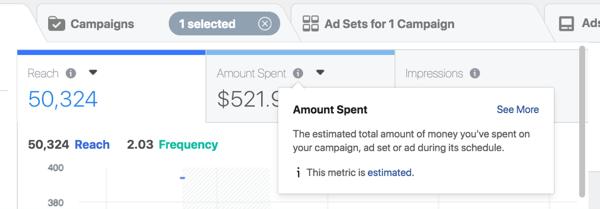 Basa il budget degli annunci di Facebook sulle entrate che desideri generare.