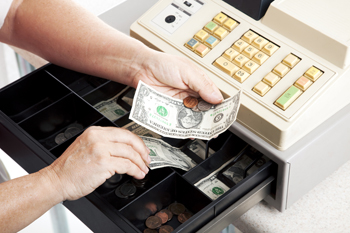 Cash register by Lisa F. Young on Shutterstock.com