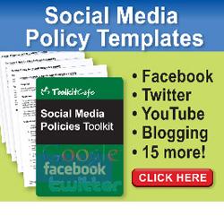 Social Media Policy Templates - Social Media Policies Toolkit