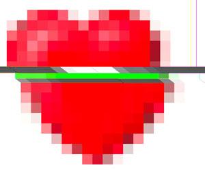 broken digital heart