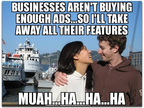 Zuckerbag's Anti-ROI Policy