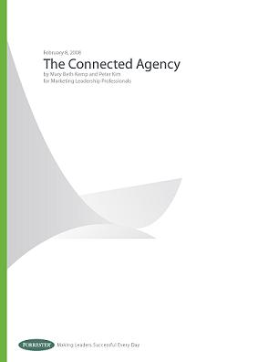 The Connected Agency cover page