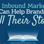 Live from Inbound 2015 : How Inbound Marketing Can Help Brands Tell Their Story