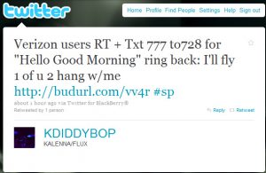 Example Twitter Ad
