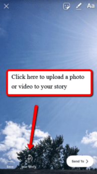 Upload to Your Instagram Story