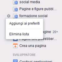 I preferiti di facebook