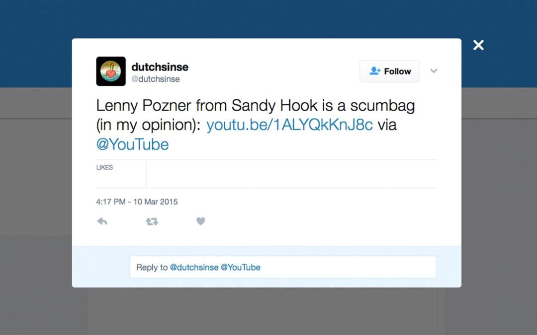 Michael Yuri Janitch aka Dutchsinse and Sinseduth Claims He IS NOT a Sandy Hook Hoaxer.