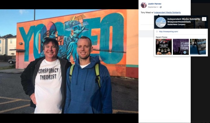 Justin Harvey - Tony Mead - Independent Media Solidarity - WeAreChange Orlando - Florida