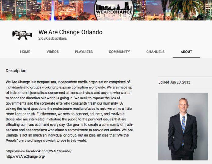 Justin Harvey - WeAreChange Orlando - YouTube About