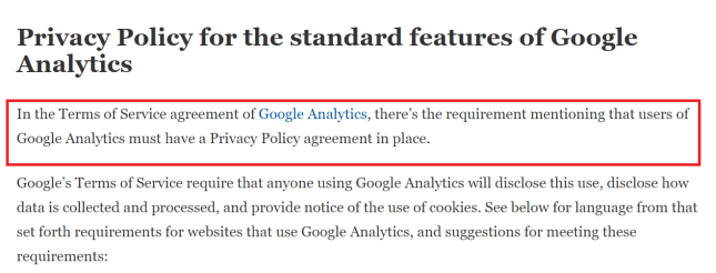 privacy policy google lebanon