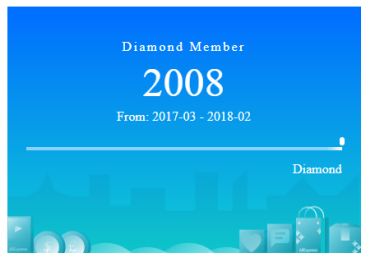 diamond member aliexpress