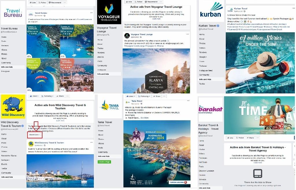 digital marketing lebanon travel agency