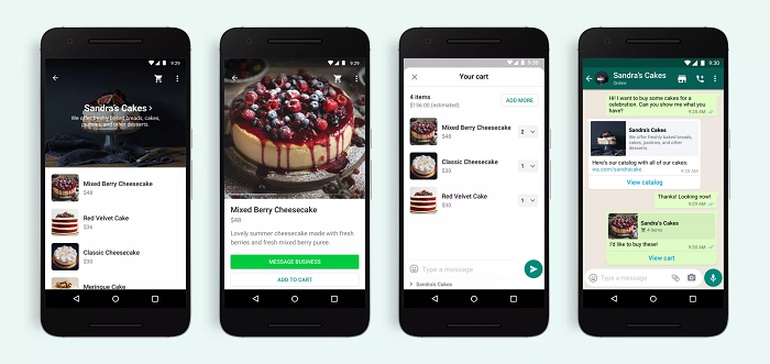 WhatsApp Adds 'Carts' to Further Facilitate Shopping Within Message Streams