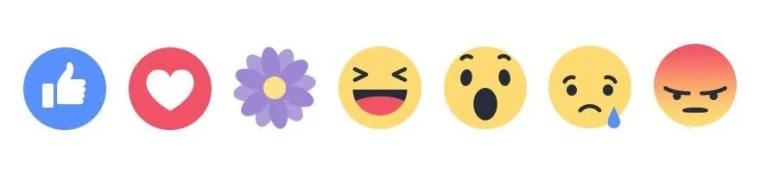 Facebook 'Thankful' Reaction