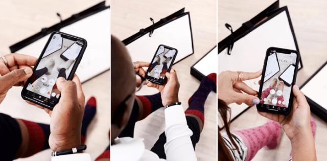 Snapchat Gucci campaign