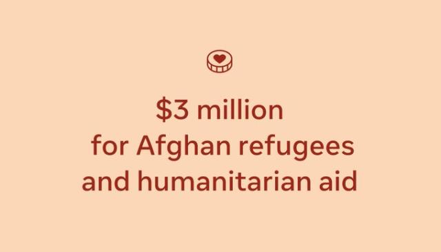 Facebook Afghanistan funding