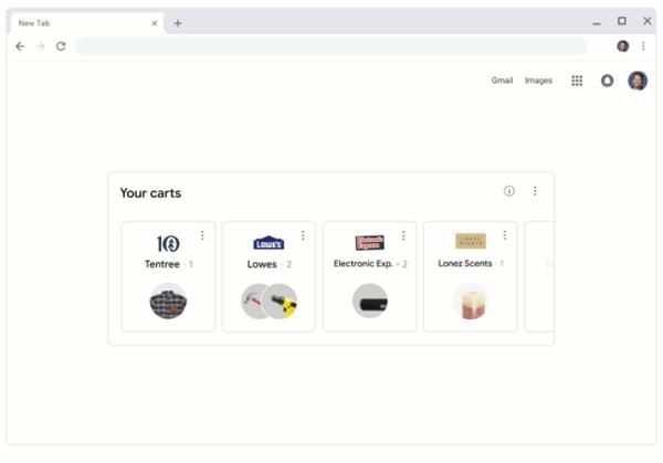 Google shopping reminders