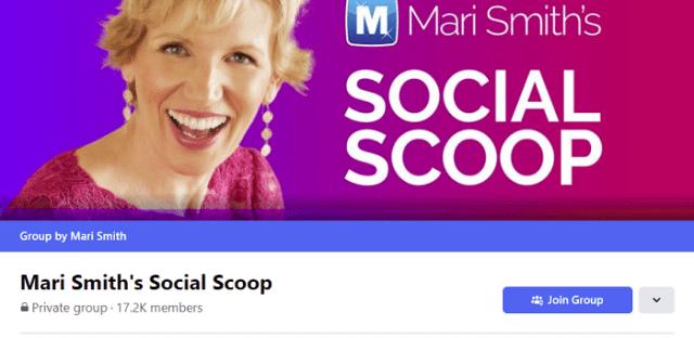 Mari Smith's Social Scoop Facebook group