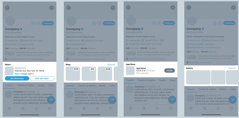 Nouveau profil professionnel twitter
