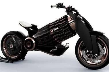 El vehículo eléctrico sin los apliques de madera